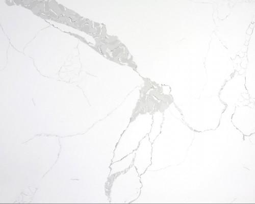 Calcutta white quartz slabs