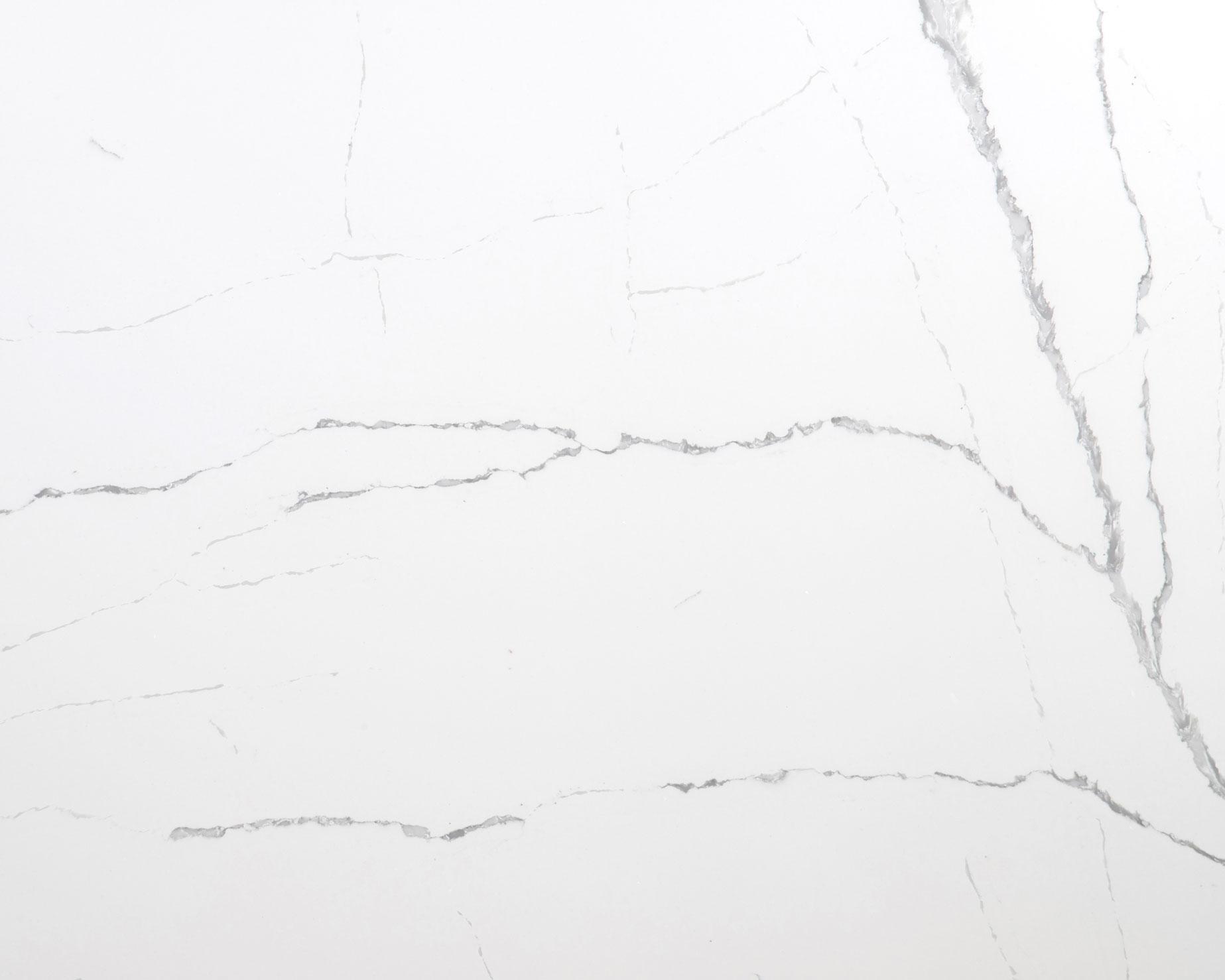 white artificial quartz slabs